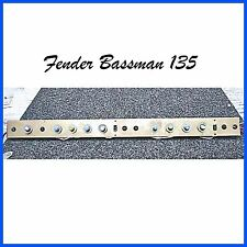 Fender Bassman 135 Amp Panel 1981 Components & Parts Pots Caps Switches Wire NOS
