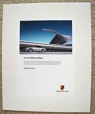 PORSCHE OFFICIAL 911 996 CARRERA OFFICIAL SHOWROOM POSTER 2003 b