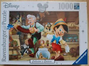 Ravensburger Disney Collectors Edition Pinocchio 1000 Piece Jigsaw Puzzle - New