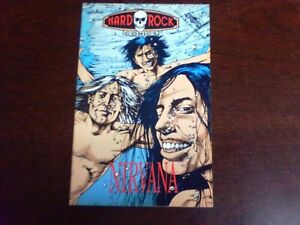 HARD ROCK COMICS  Nirvana #4-1992. First Printing.