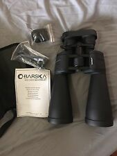 Barska Astronomical Binoculars, 20-100x70 Zoom, Gladiator w/ Tripod Adaptor.