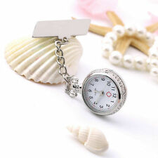New Cute Pendant Butterfly Nurse Clip-on Brooch Quartz Hanging Pocket Watch DH