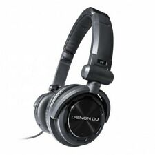 Denon DN-HP600 DJ Kopfhörer | Profi Full-Range Kopfhörer für DJs und Studio
