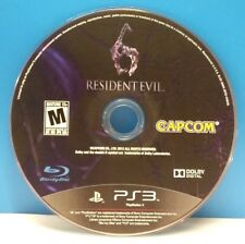 Resident Evil 6 (Sony PlayStation 3, 2012)(DISC ONLY) #12746