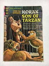 Korak Son of Tarzan #14  VG/F Gold key comic 1966 Manning art