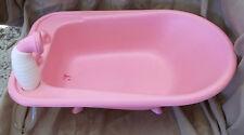 Baby Doll Pink Bathtub Plastic Vintage
