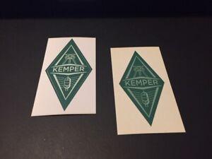 Kemper Profiling Amp Custom Sticker 3x2 2pc set