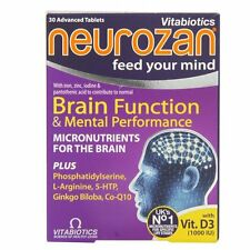 Vitabiotics Neurozan Original Cognitive Function 30 Tablets