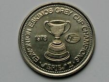 CFL Football EDMONTON ESKIMOS 1978 Grey Cup Champions/Commonwealth Stadium Medal