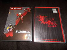 2 DVD EUROBALL III PRESSURE Paintball & KEEP ON THE RACING LINE Scc Street Luge