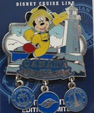 DISNEY DCL CRUISE LINE CANADA & NEW ENGLAND 2012 DANGLE MICKEY MOUSE LE 2500 PIN