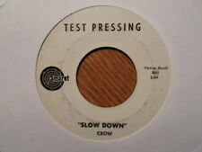 Test Presser Amaret 45 Record / Crow /Slow Down / Fromage Cottage / VG Minus