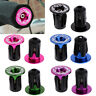1Pair Aluminum Alloy Handlebar Grips Bar End Plugs Cap For MTB Road Bike Cycling