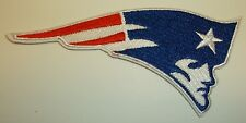 "New England Patriots Embroidered PATCH~4 1/8"" x 2""~Iron Sew On~NFL~Ships FREE"