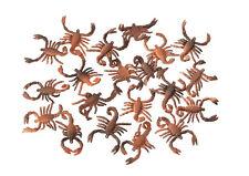 20 Glibber-Skorpione Scherzartikel Grusel Horror Halloween 129069213