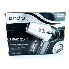 Andis IONIC Compact Hair Dryer with Folding Handle and Retracrable Cord - 1875W