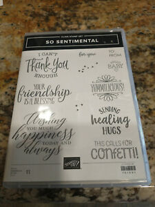 Stampin/' UP FREE SHIPPING! Small Phrase Stamp Set