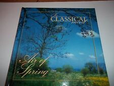 In Classical mood Air of Spring CD & Book VGC Grieg Delius Weber Mahler Mozart