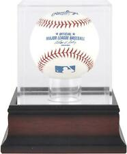 Antique Mahogany Baseball Display Case - Fanatics