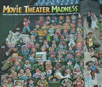 2008 Tom Bunk Art Poster Pages Movie Theater Madness Weird Vintage Print Ad