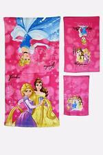 Disney PRINCESS  3-piece Bath Hand Fingertip Towel Set Beach Pool Child Gift NEW