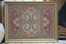 Vintage Tapestry Made in Belgium in High Quality Wood Carved Gold Leaf Frame VGC