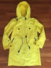 J.Crew Collection Trench Coat In Lemon Yellow Sz 6 ONE OF A KIND