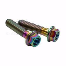 2x 19RCS 16RCS 15RCS Brembo Clutch Master Cylinder Rainbow Titanium Clamp Screw
