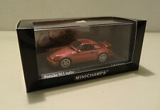 Porsche 911 Turbo Typ 964 1990 red met. Minichamps 1:43