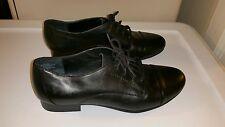 Black Leather Jazz Shoes White Mountain Size 7 NWOB