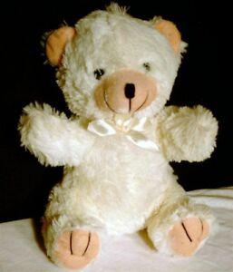 """Greenbrier Teddy Bear Polar White Soft Plush 12"""" Toy Doll Stuffed Furry Animal"""