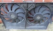 SAAB 9-3 93 2.0T Twin Radiator Cooling Fans 24401989 Vauxhall Vectra