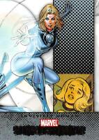 INVISIBLE WOMAN / Marvel Beginnings Series 1 BASE Trading Card #31