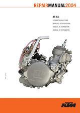 KTM Repair Manual RA 85 SX 2004 E