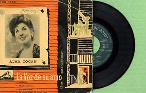 ALMA COGAN / Skokiaan / LA VOZ DE SU AMO 7EML 28.093 Press Spain EP 1956 VG