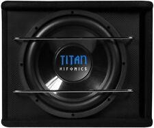 Hifonics Titan TS300R Subwoofer Gehäuse Basskiste 400 WRMS 4 Ohm 30 cm B-Reflex