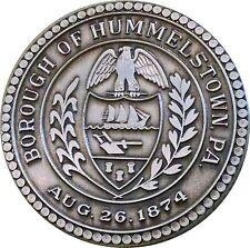 1874-1974 HUMMELSTOWN, PENNSYLVANIA CENTENNIAL .999 FINE SILVER  ~ SERIAL # 3