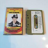 TONY HANCOCK GOLDEN HOUR OF CASSETTE TAPE 1974 PAPER LABEL GOLDEN HOUR UK