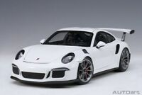 Autoart 78166 - 1/18 Porsche 911 (991) Gt3 Rs (2016) - White - Neu