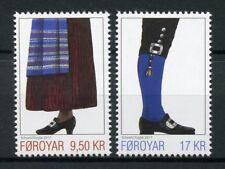 Faroes Faroe Islands 2017 MNH Faroese National Costumes II 2v Set Stamps