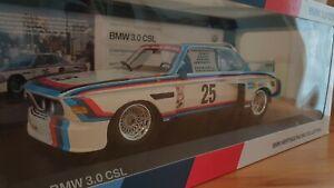 BMW 3.0 CSL #25 Hans-Joachim Stuck / Maßstab 1:18 / Lizenzprodukt