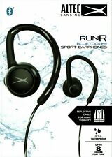 ALTEC LANSING RUNR bluetooth sport earphones earpuds with volume control button