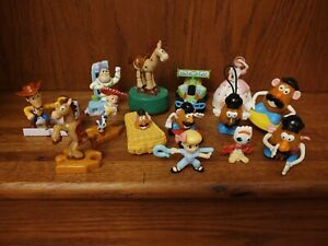 Toy Story Mixed Lot Of 14 McDonald's Happy Meal - Burger King Kids Meal Toys