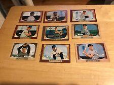 1955 Bowman Complete set (1-320) VG/X nice set