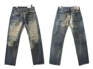 KAPITAL KOUNTRY super USED processed jeans size W 82 cm w 34