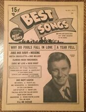 1950s XVI #4 --- BEST SONGS vintage music magazine - GEORGE SHAW