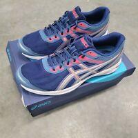 ASICS Gel-Sileo Size 10 Azure/Silver Women's Running Shoes 1012A177-400 NEW