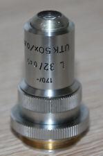 Leitz microscopio microscope objetivamente l 32/0, 40 UTK 50x/0,63 P (170/-) con Iris