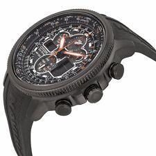 Citizen Wrist Watch for Men Citizen Navihawk A-T Black Dial Rub Unisex