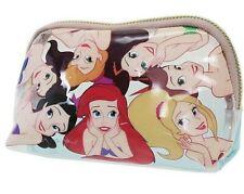 Disney The Little Mermaid Sisters half moon cosmetic pouch bag zip-around office